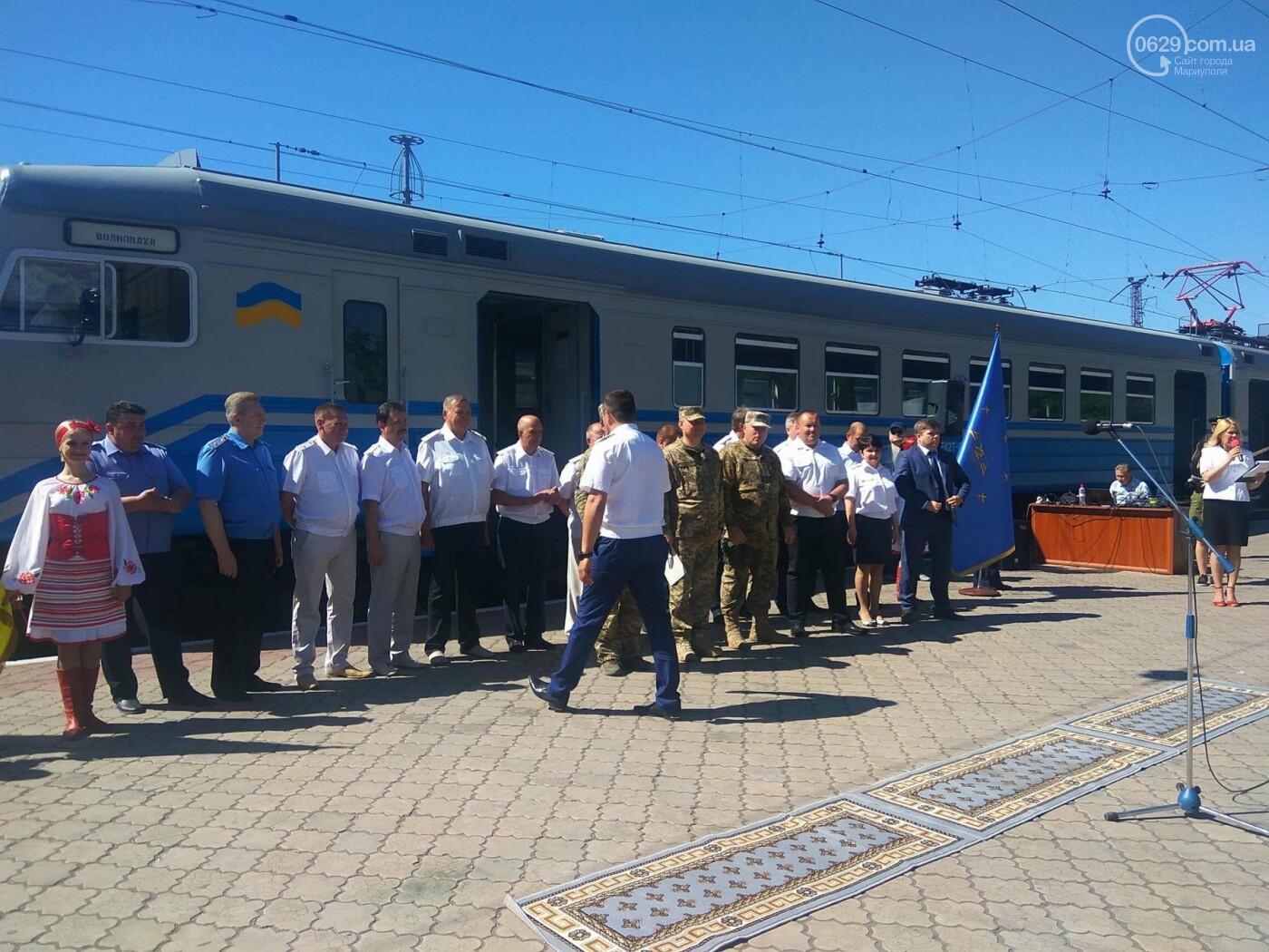 Из Мариуполя в Волноваху запустили пригородные электрички, - ФОТО, ВИДЕО, фото-5