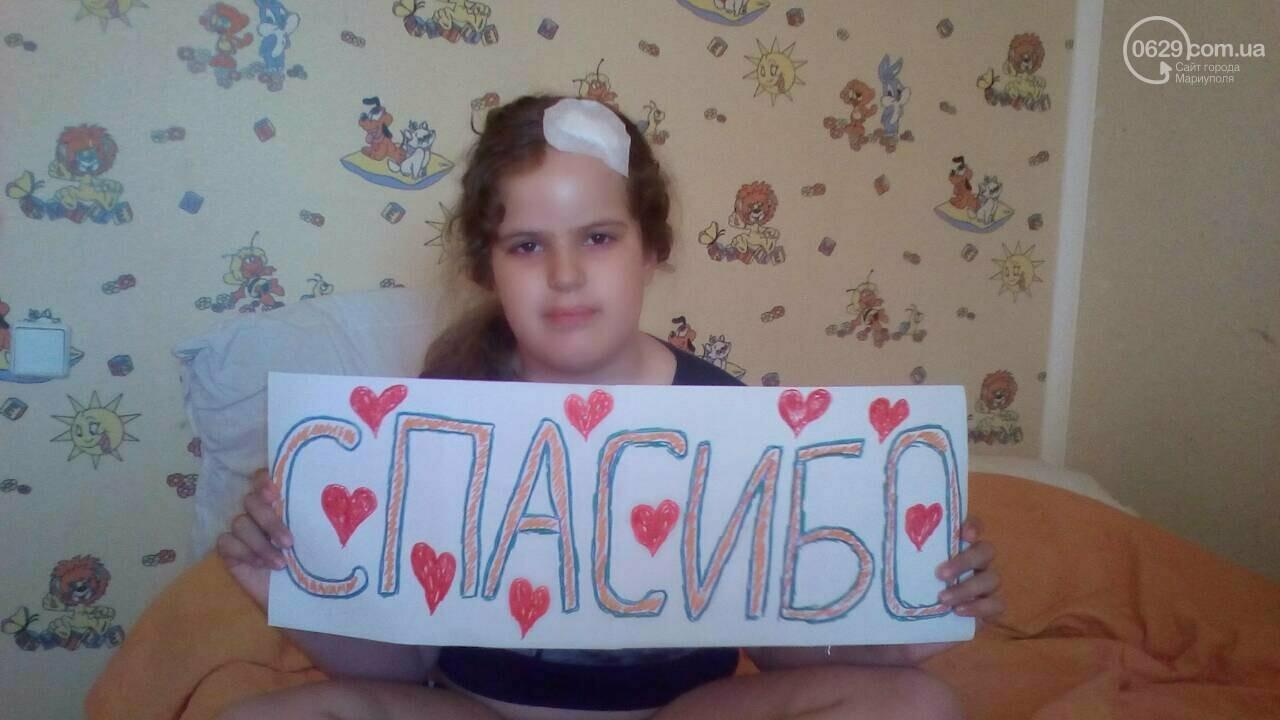 Мариупольской девочке сделали еще одну операцию в Киеве, фото-1