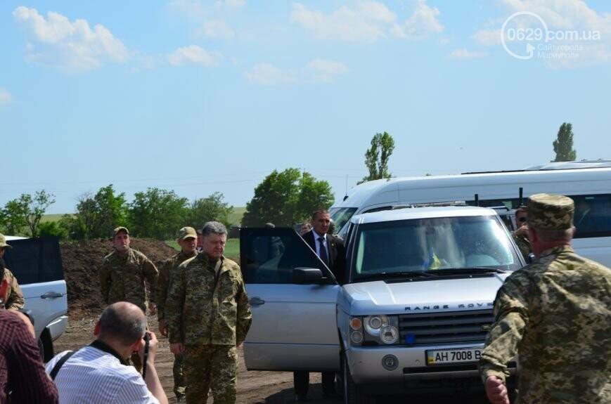 Визит Порошенко в Мариуполь, ММКИ обещает реконструкцию аглофабрики и фан-зона Евро-2012 для мариупольских заключенных. О чем писал 0629.c..., фото-5