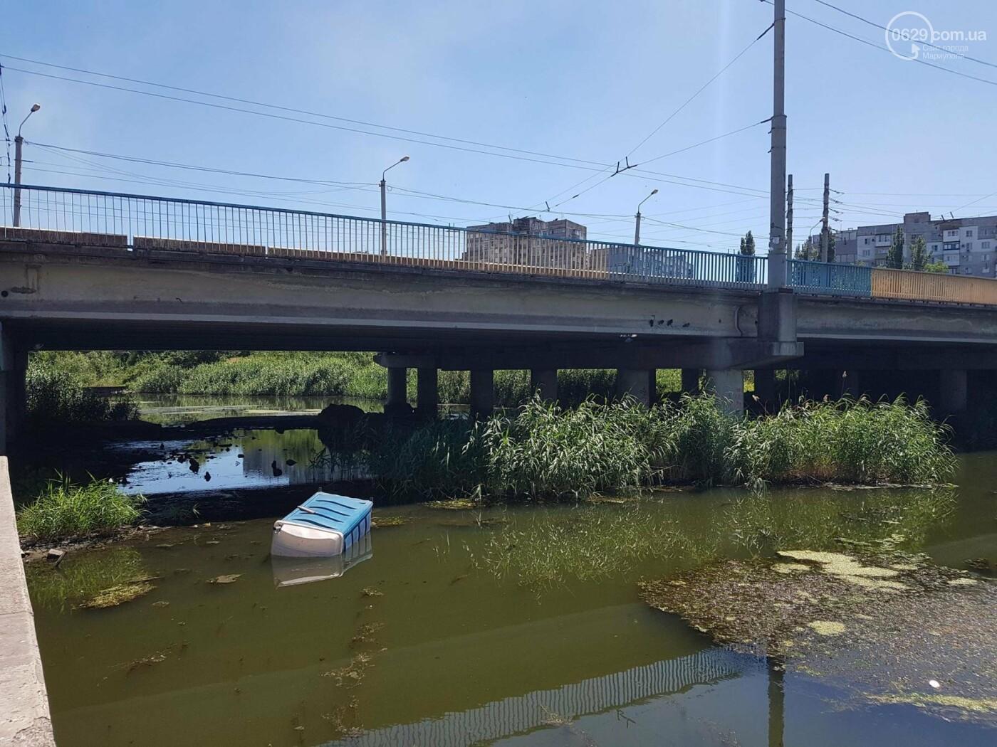 """В Мариуполе по реке плавает """"туалет-амфибия"""", -ФОТО, ВИДЕО, фото-5"""