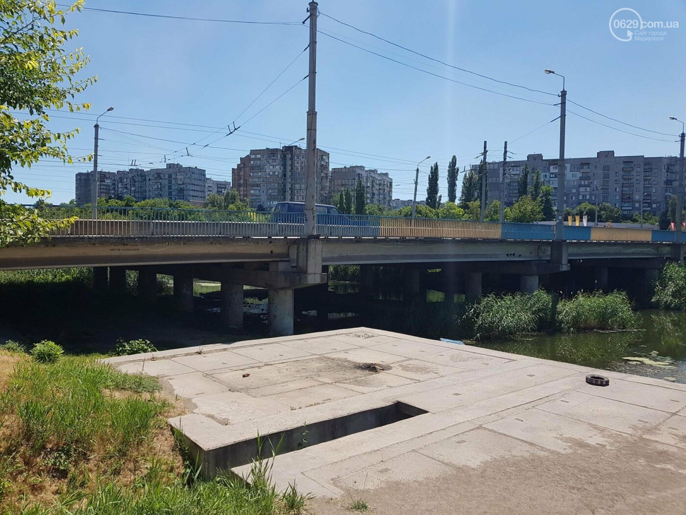"""В Мариуполе по реке плавает """"туалет-амфибия"""", -ФОТО, ВИДЕО, фото-4"""