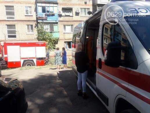 В Мариуполе из-за пожара в 5-этажном доме эвакуировали шесть человек, - ФОТО, ВИДЕО, фото-4