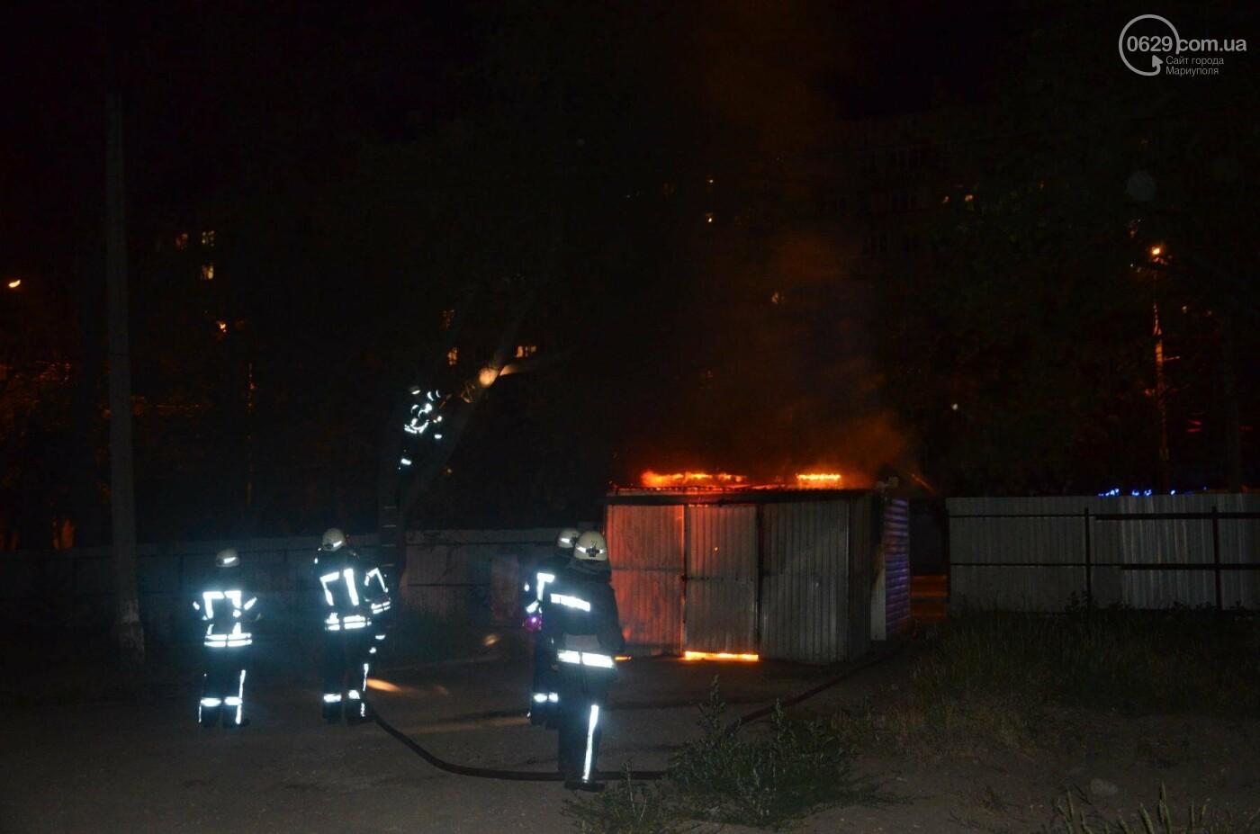 В Мариуполе на заброшенном хлебозаводе горел хлебный киоск, - ФОТО, ВИДЕО, фото-1