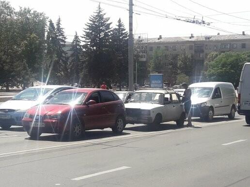 В центре Мариуполя произошло ДТП,- ФОТО, фото-1