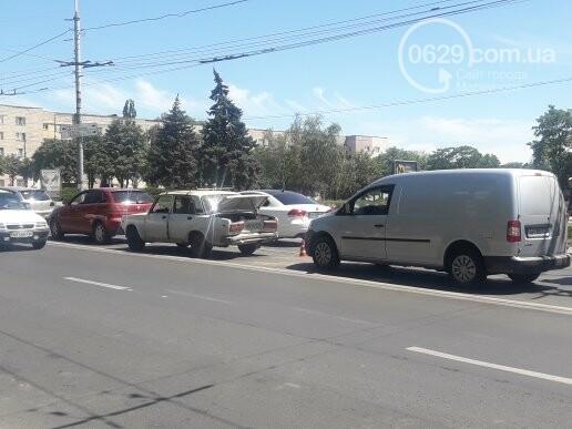 В центре Мариуполя произошло ДТП,- ФОТО, фото-2