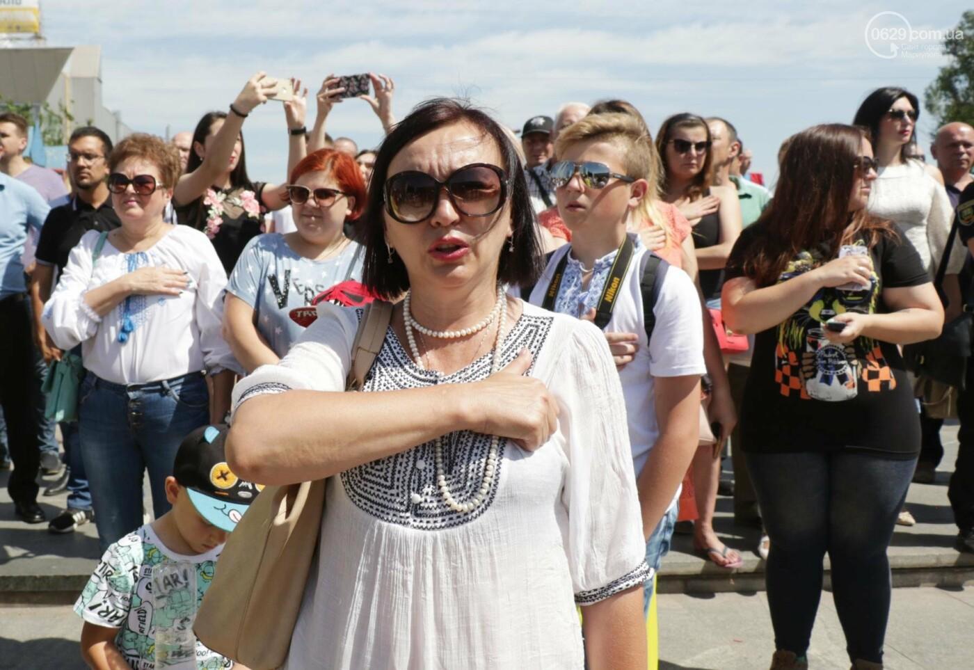 Как в Мариуполе отпраздновали четвертую годовщину освобождения в 30-ти фотографиях, - ФОТОРЕПОРТАЖ, фото-22