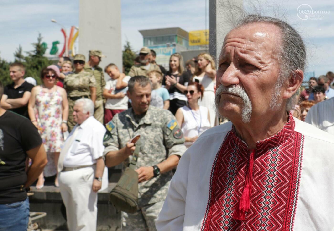 Как в Мариуполе отпраздновали четвертую годовщину освобождения в 30-ти фотографиях, - ФОТОРЕПОРТАЖ, фото-6