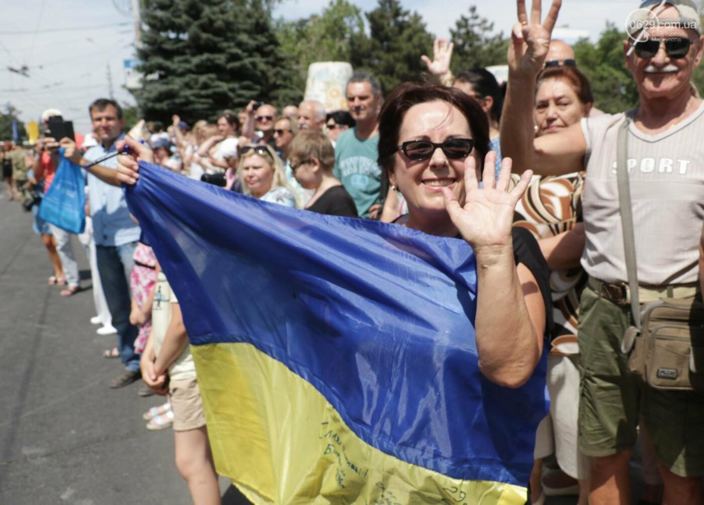 Как в Мариуполе отпраздновали четвертую годовщину освобождения в 30-ти фотографиях, - ФОТОРЕПОРТАЖ, фото-13