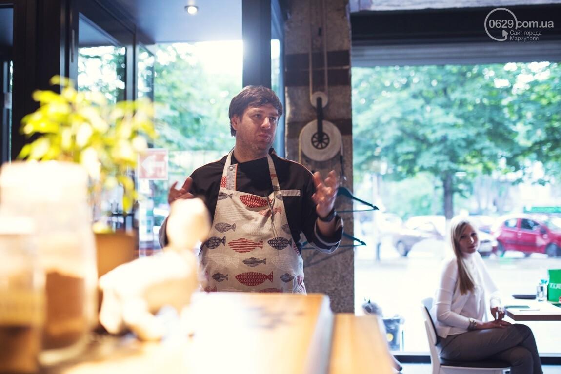 Невероятный  гастроужин от Киевского шеф-повара Юрия Приемского прошел в ресторане 7 Goats, фото-1