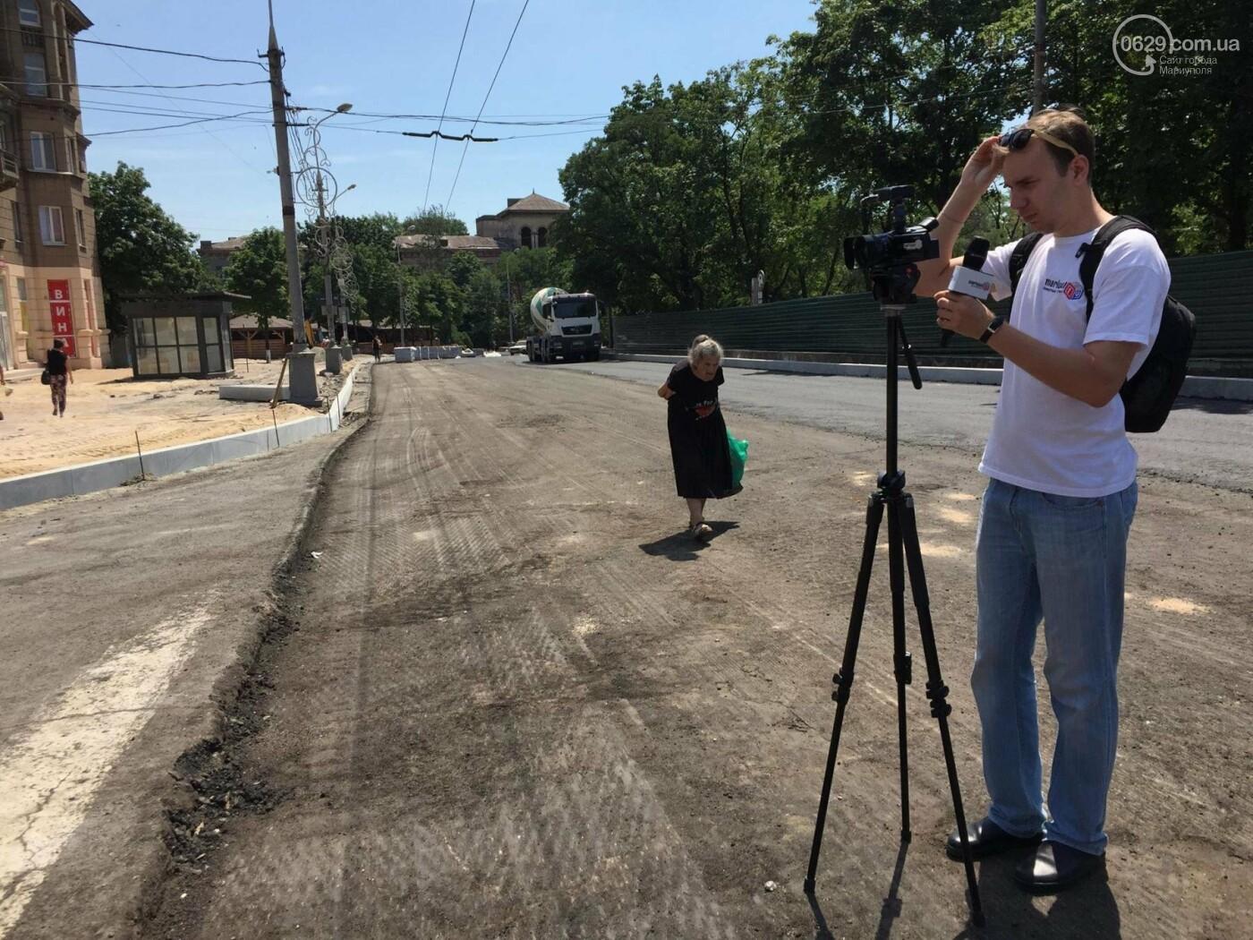 Дорога вокруг мариупольского драмтеатра будет закрыта еще минимум три недели, -ФОТО, ВИДЕО, фото-5