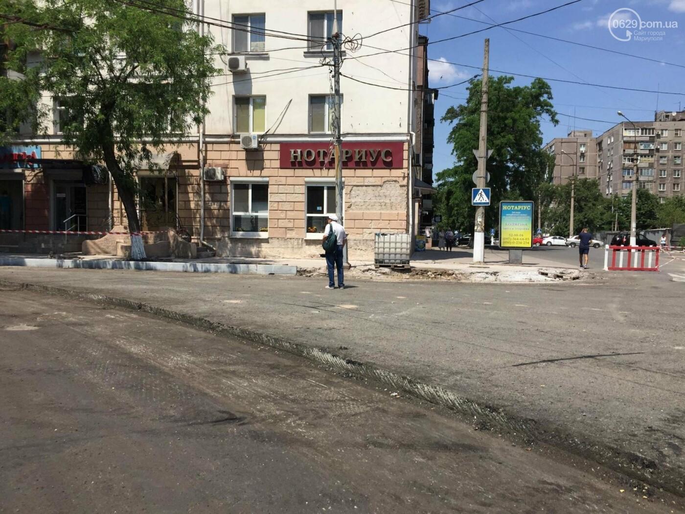Дорога вокруг мариупольского драмтеатра будет закрыта еще минимум три недели, -ФОТО, ВИДЕО, фото-4