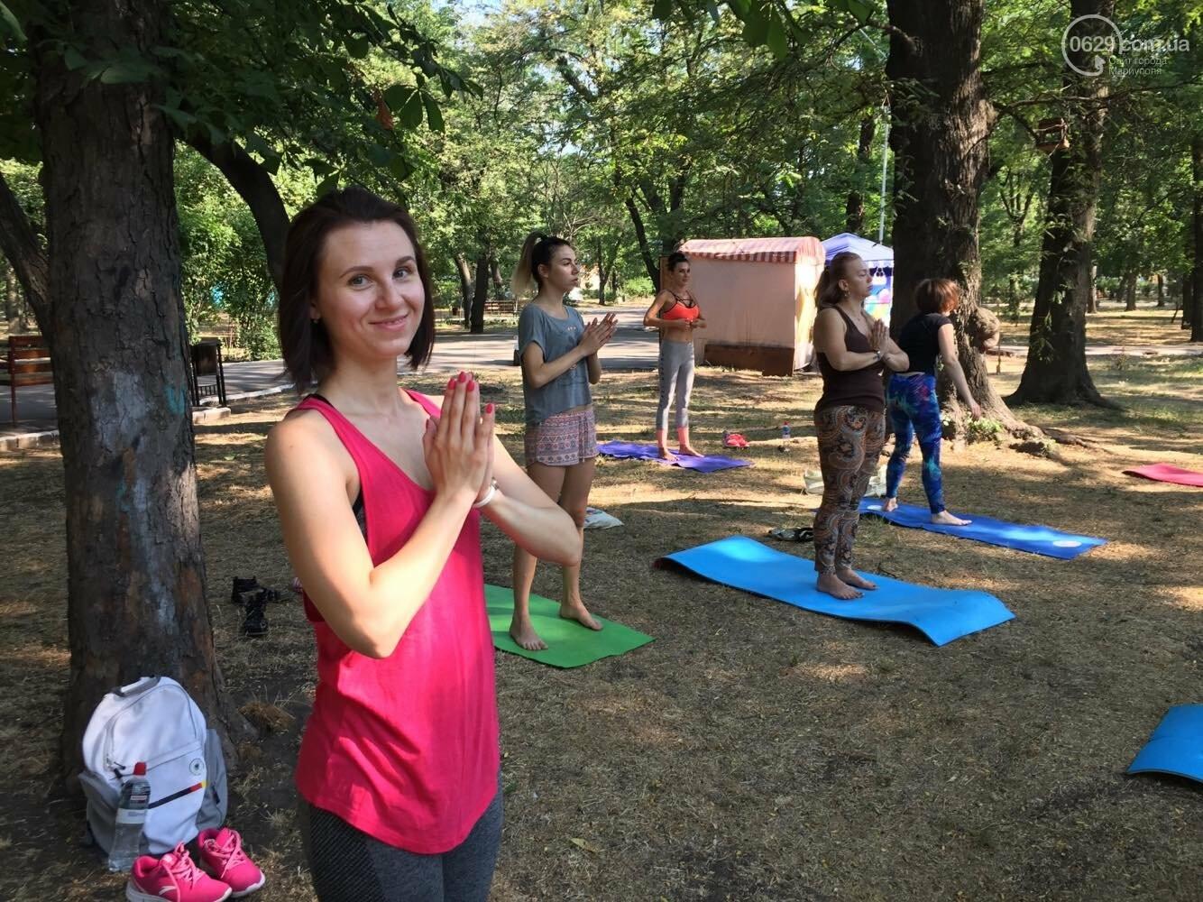 В Мариуполе отпраздновали Международный День йоги, - ФОТО, ВИДЕО, фото-7