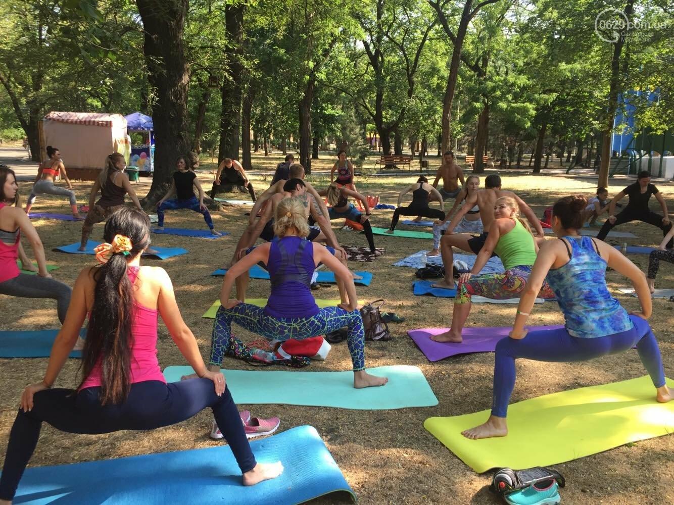 В Мариуполе отпраздновали Международный День йоги, - ФОТО, ВИДЕО, фото-3