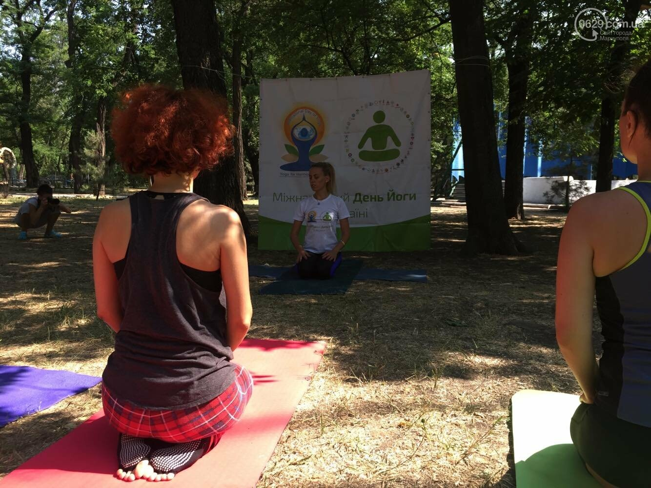 В Мариуполе отпраздновали Международный День йоги, - ФОТО, ВИДЕО, фото-5