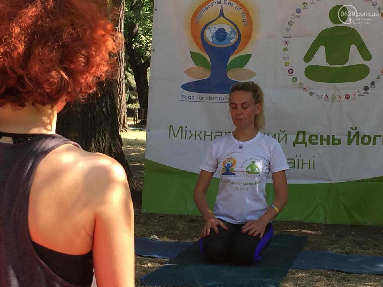 В Мариуполе отпраздновали Международный День йоги, - ФОТО, ВИДЕО, фото-2