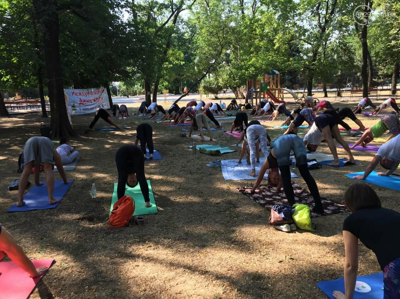В Мариуполе отпраздновали Международный День йоги, - ФОТО, ВИДЕО, фото-4