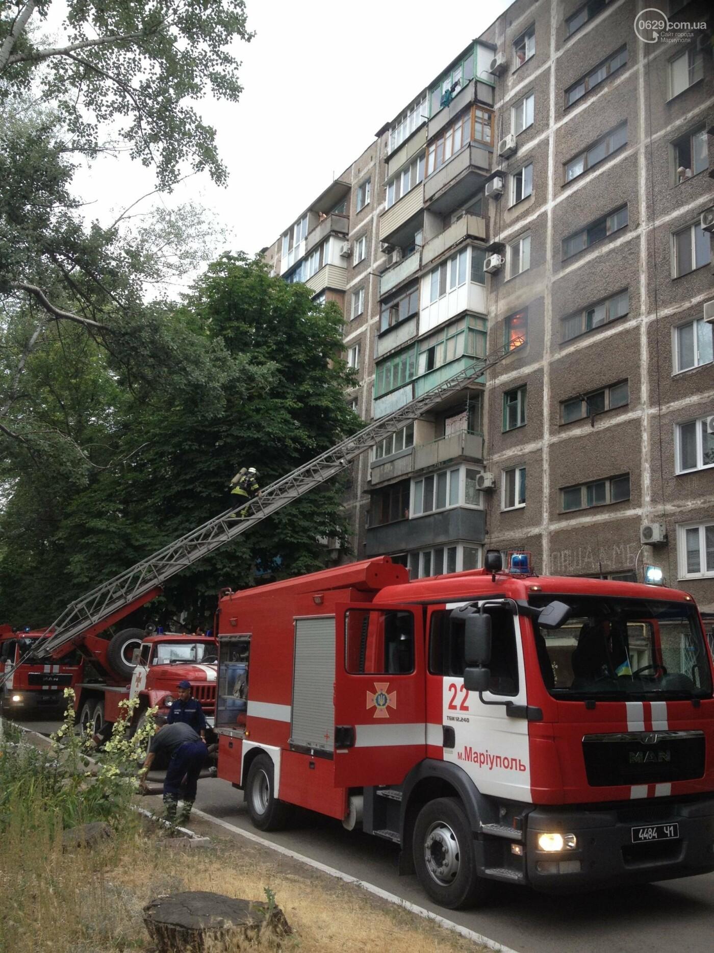 В Мариуполе сгорела однокомнатная квартира, - ФОТО, фото-3