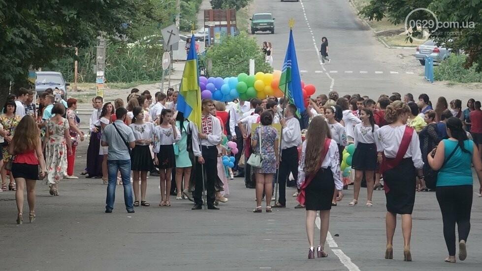В Никольском районе отметили выпускной в вышиванках, с парадом и фейерверком, - ФОТОРЕПОРТАЖ, фото-4