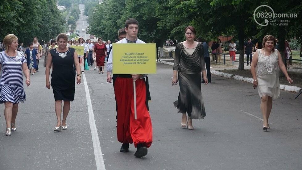 В Никольском районе отметили выпускной в вышиванках, с парадом и фейерверком, - ФОТОРЕПОРТАЖ, фото-7