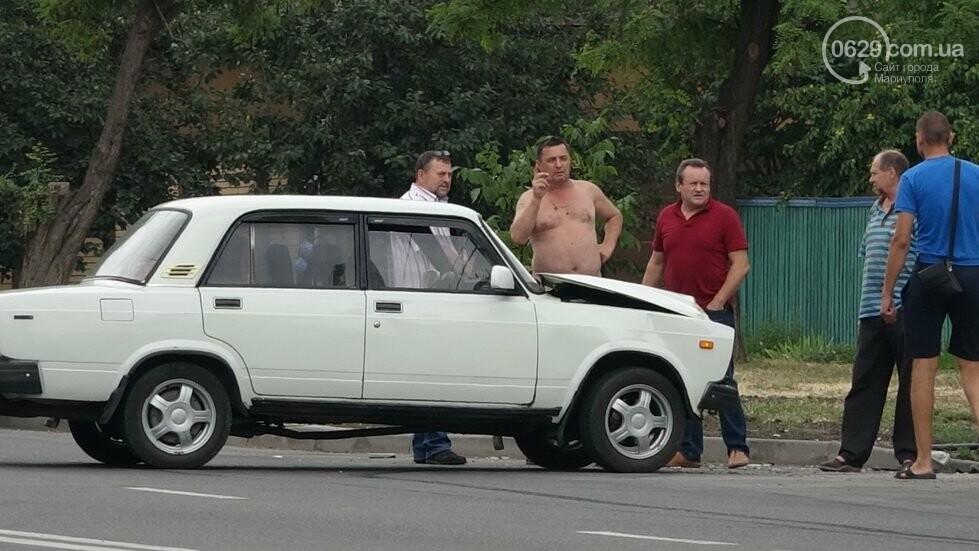 В Мариуполе не разминулись два автомобиля, - ФОТО, фото-2
