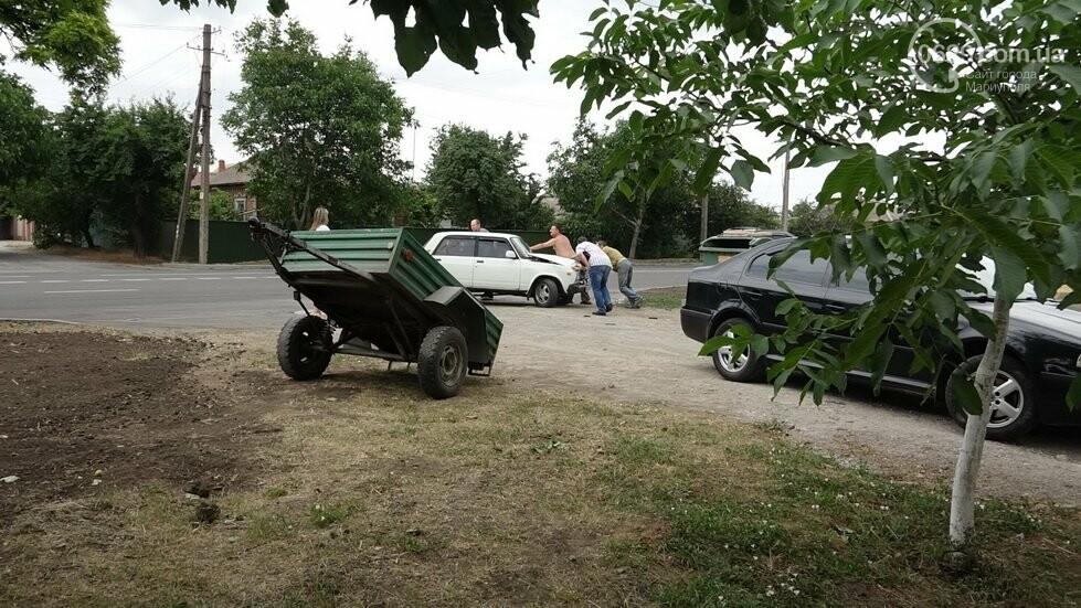 В Мариуполе не разминулись два автомобиля, - ФОТО, фото-12