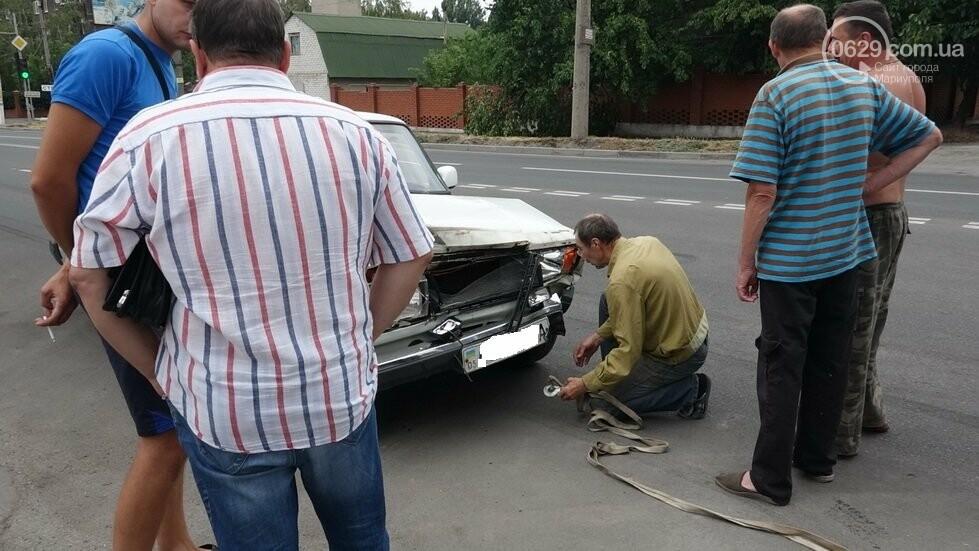 В Мариуполе не разминулись два автомобиля, - ФОТО, фото-8