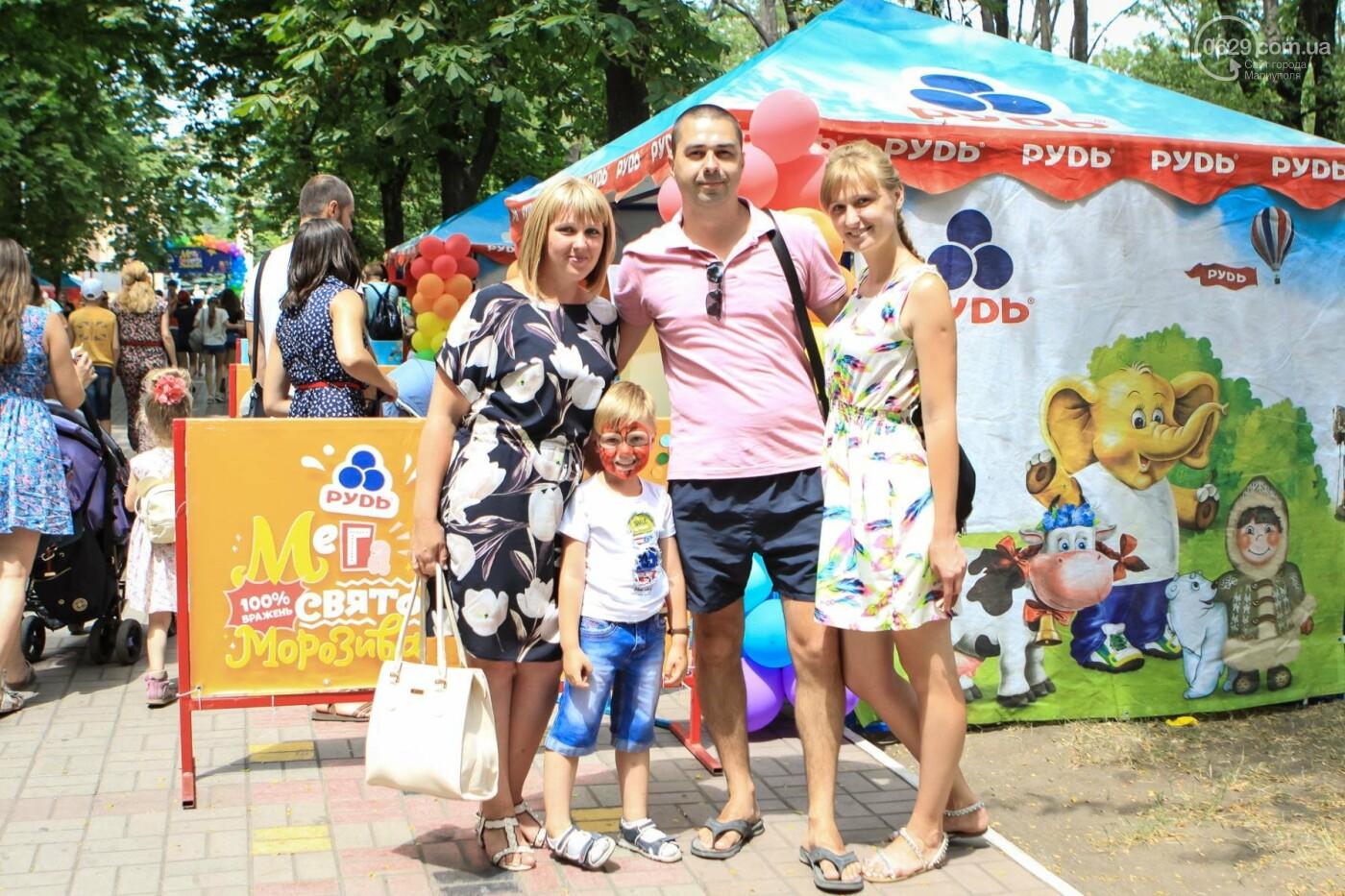 Мариупольцы получили 100% ярких впечатлений на Празднике Мороженого от компании «РУДЬ», фото-31