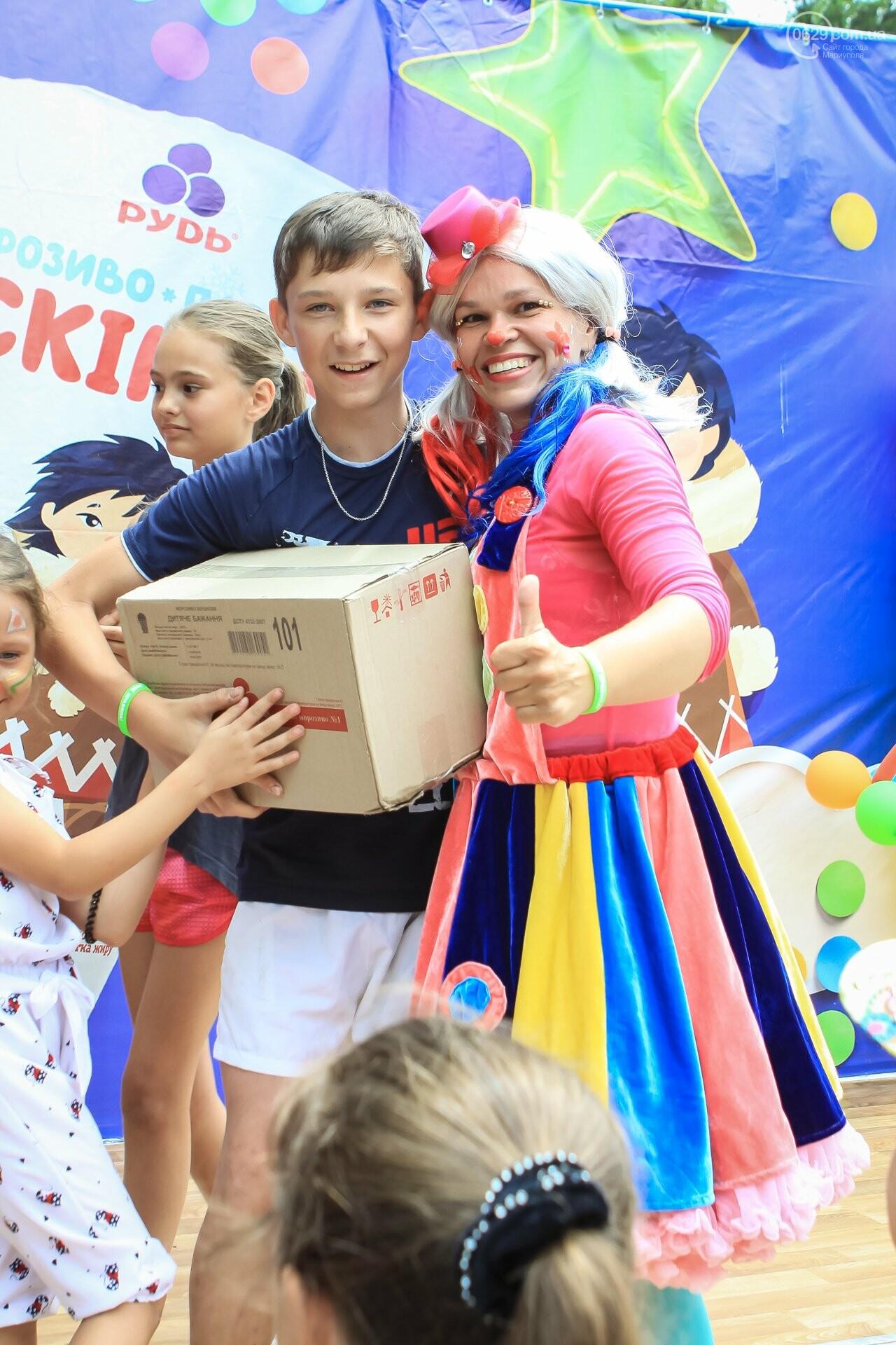 Мариупольцы получили 100% ярких впечатлений на Празднике Мороженого от компании «РУДЬ», фото-16