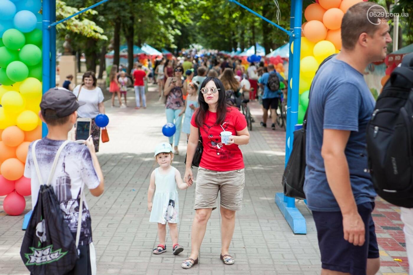 Мариупольцы получили 100% ярких впечатлений на Празднике Мороженого от компании «РУДЬ», фото-15