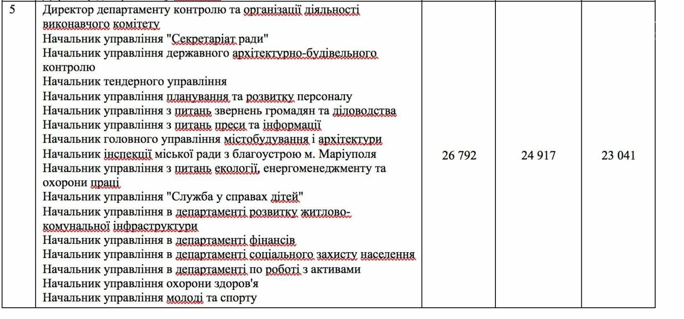 Депутаты Мариупольского горсовета подняли зарплаты работникам исполкома, фото-1