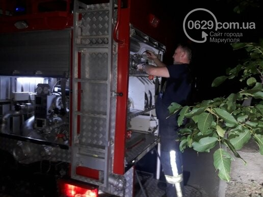 В Мариуполе в 14-этажке произошло возгорание, -  ФОТО, фото-1