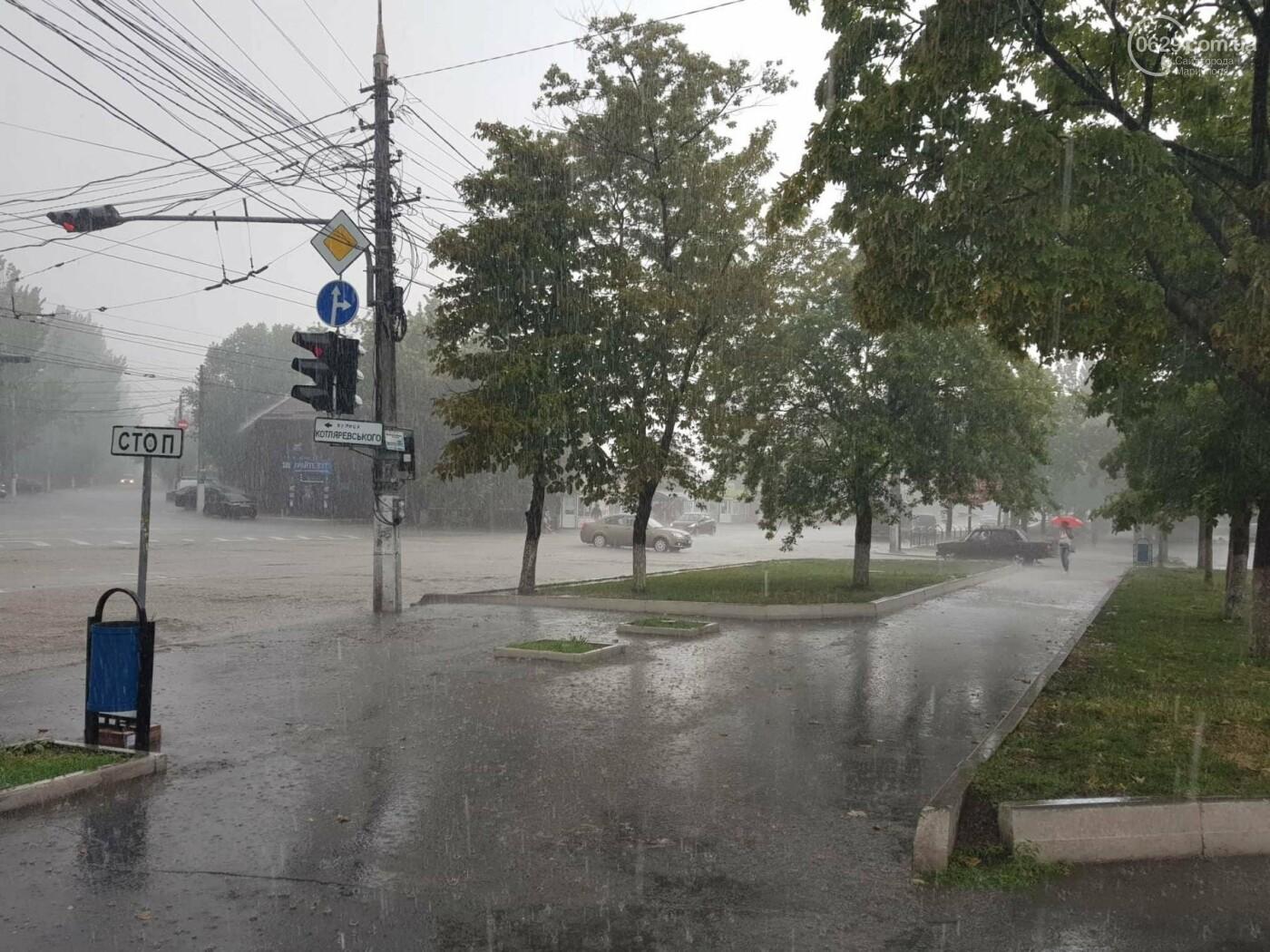 Мариупольцы оказались не подготовлены к ливню,  а площадь Кирова традиционно затопило, - ФОТО, ВИДЕО, фото-6