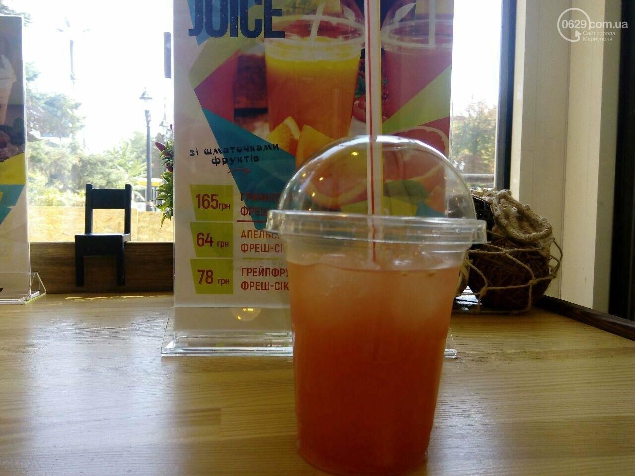 Где в Мариуполе можно выпить апельсиновый фреш, и что важно знать, чтобы не отравиться, фото-1