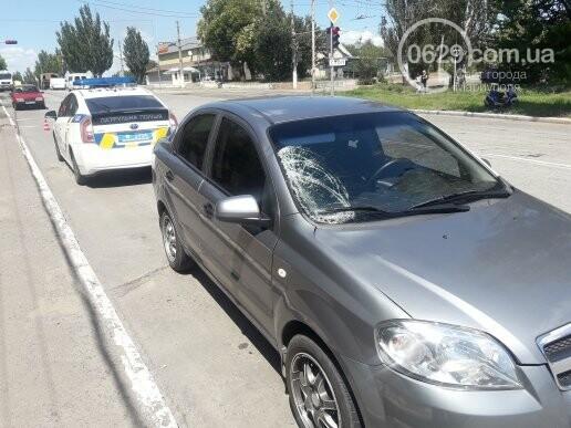 В Мариуполе автомобиль сбил пешехода, - ФОТО, дополнено, фото-1