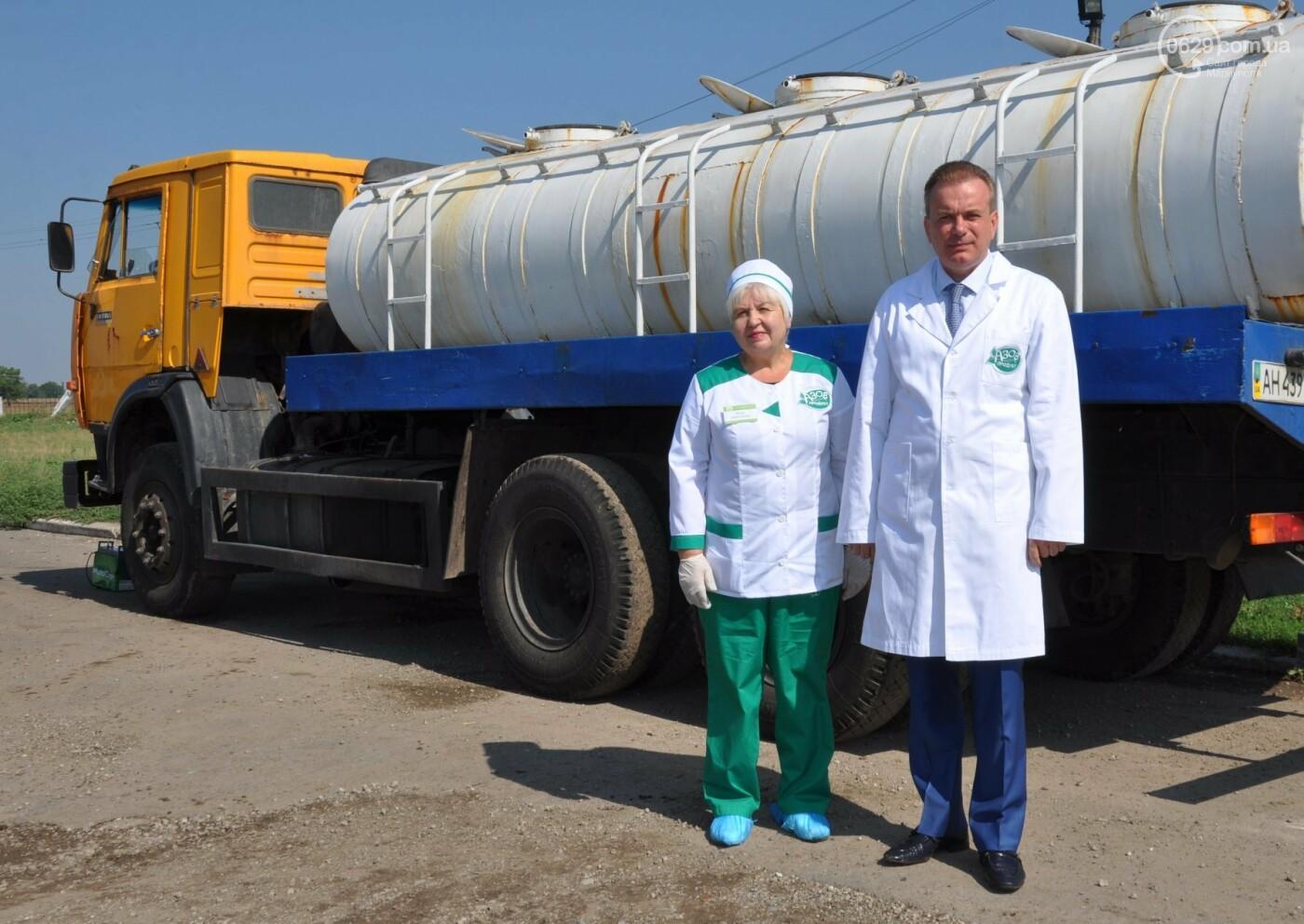 Откуда Мариупольский молокозавод получает натуральное молоко?, фото-15