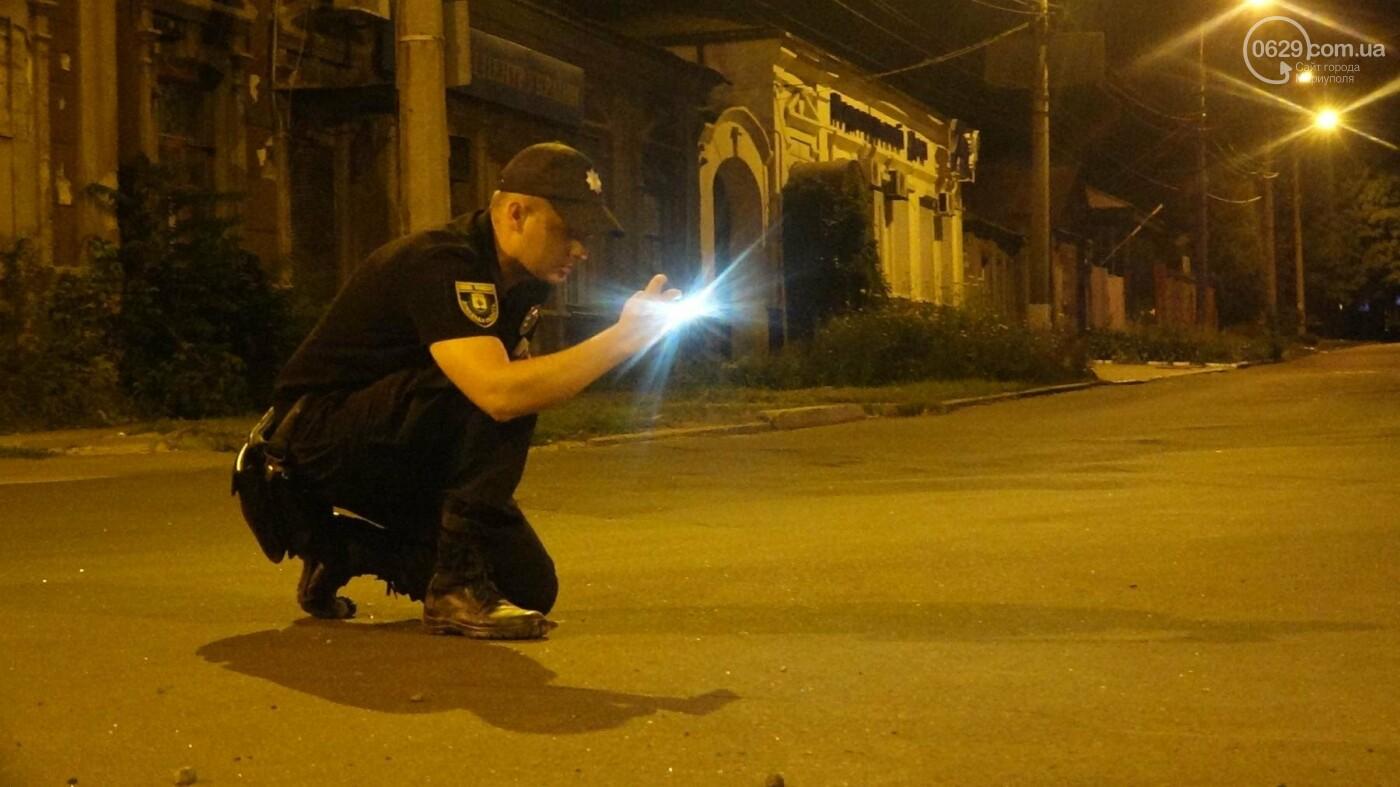 """Смертельное ДТП в Мариуполе: """"Таврия"""" врезалась в бетонное ограждение и загорелась, - ФОТО, ВИДЕО, 18+, фото-9"""