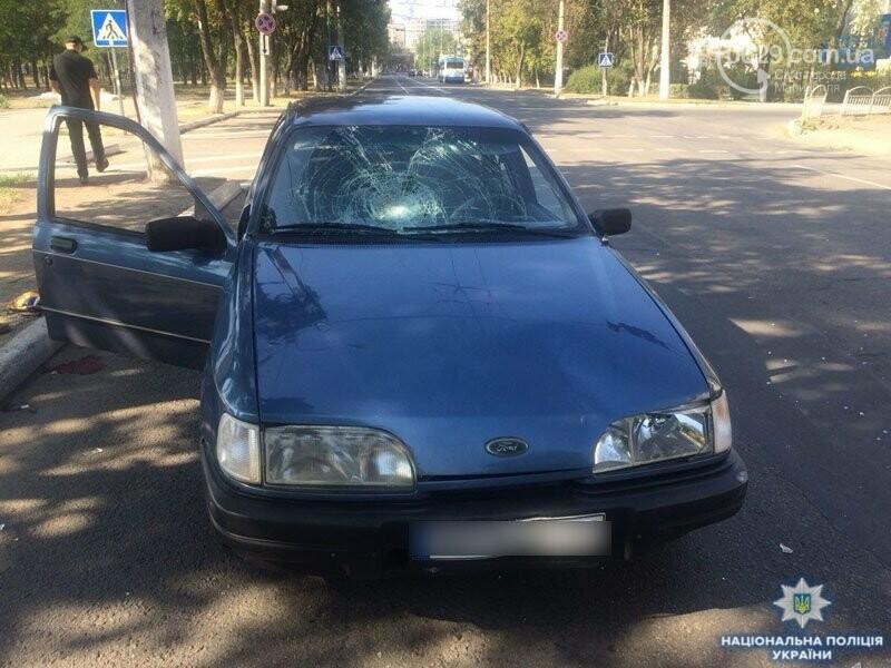 В Мариуполе возле областной полиции автомобиль сбил мужчину, - ФОТО, ВИДЕО, фото-2