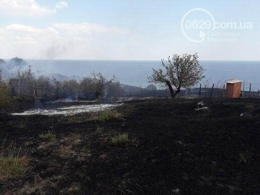 Масштабный пожар. В поселке Мелекино горит сухая трава, - ДОПОЛНЕНО, ВИДЕО, ФОТО, фото-6