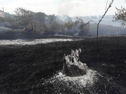 Масштабный пожар. В поселке Мелекино горит сухая трава, - ДОПОЛНЕНО, ВИДЕО, ФОТО, фото-7