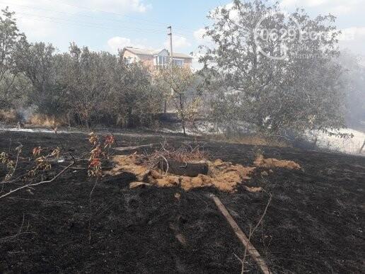 Масштабный пожар. В поселке Мелекино горит сухая трава, - ДОПОЛНЕНО, ВИДЕО, ФОТО, фото-9