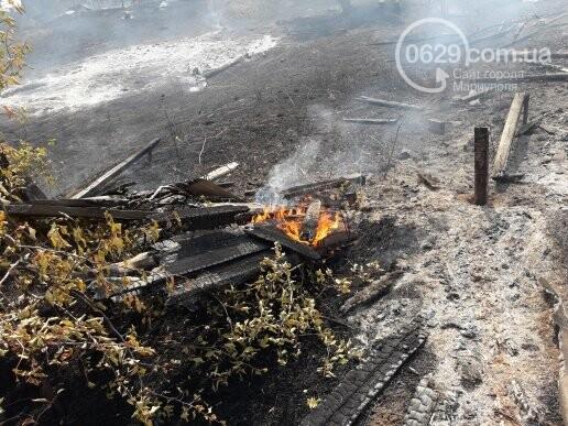 Масштабный пожар. В поселке Мелекино горит сухая трава, - ДОПОЛНЕНО, ВИДЕО, ФОТО, фото-4