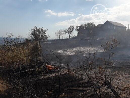 Масштабный пожар. В поселке Мелекино горит сухая трава, - ДОПОЛНЕНО, ВИДЕО, ФОТО, фото-5