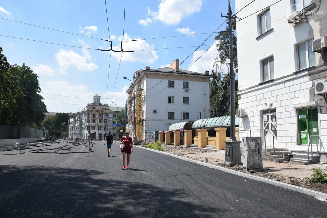 """""""Соскребли, как смогли"""". Как в Мариуполе центр города реконструируют, - ФОТОРЕПОРТАЖ, фото-27"""