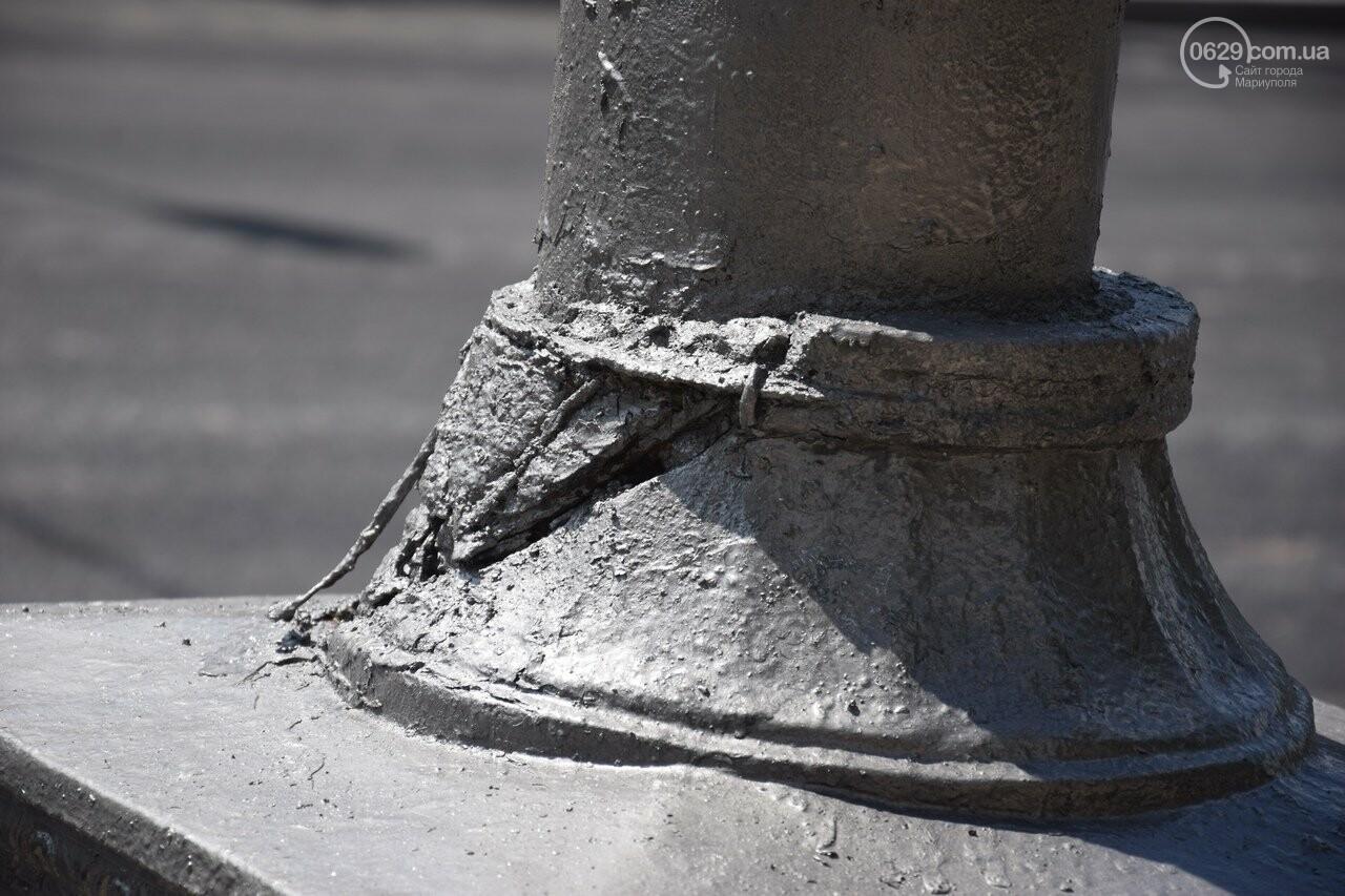 """""""Соскребли, как смогли"""". Как в Мариуполе центр города реконструируют, - ФОТОРЕПОРТАЖ, фото-10"""