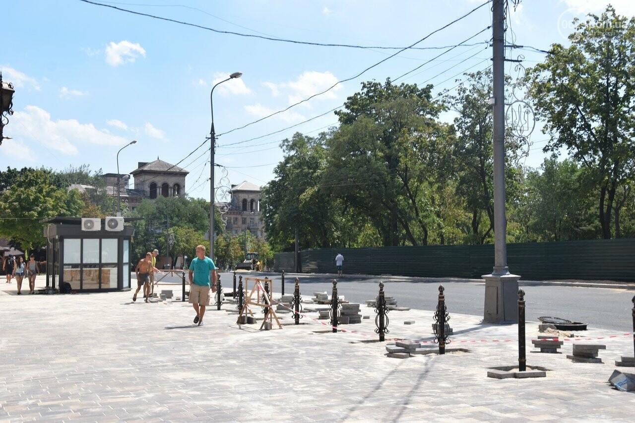 """""""Соскребли, как смогли"""". Как в Мариуполе центр города реконструируют, - ФОТОРЕПОРТАЖ, фото-6"""