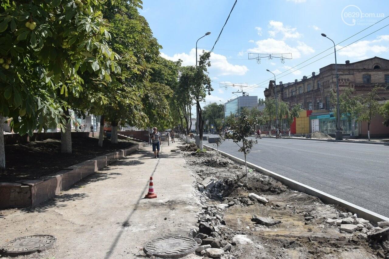 """""""Соскребли, как смогли"""". Как в Мариуполе центр города реконструируют, - ФОТОРЕПОРТАЖ, фото-48"""
