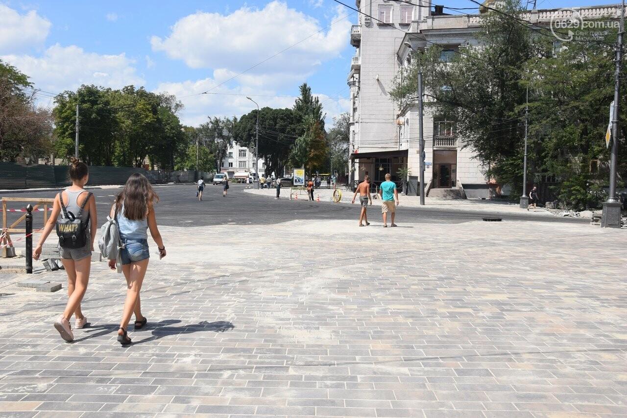 """""""Соскребли, как смогли"""". Как в Мариуполе центр города реконструируют, - ФОТОРЕПОРТАЖ, фото-37"""
