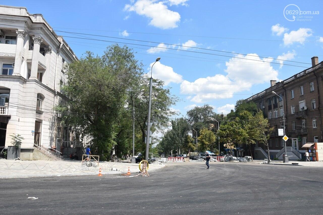 """""""Соскребли, как смогли"""". Как в Мариуполе центр города реконструируют, - ФОТОРЕПОРТАЖ, фото-19"""