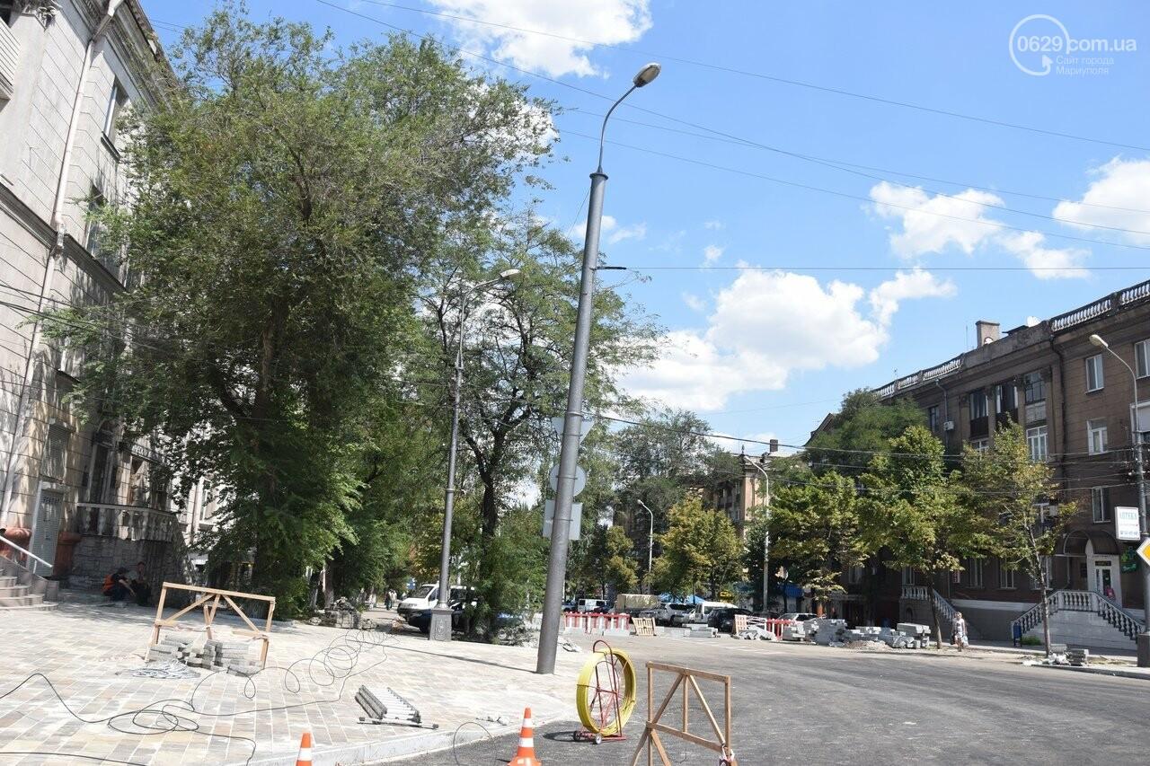 """""""Соскребли, как смогли"""". Как в Мариуполе центр города реконструируют, - ФОТОРЕПОРТАЖ, фото-51"""