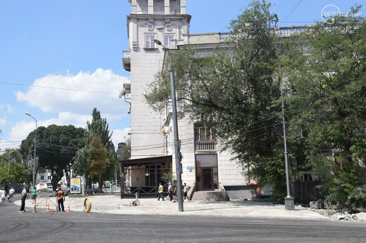 """""""Соскребли, как смогли"""". Как в Мариуполе центр города реконструируют, - ФОТОРЕПОРТАЖ, фото-41"""